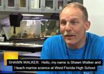 High School Teacher Holds Class at the Beach