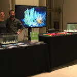 Dr. Erik Cordes and his wife, Brooke Cordes, at the Science After Hours event (Image provided by ECOGIG)