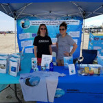 World Oceans Day booth