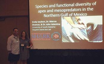 Emily Seubert's presentation at the American Elasmobranch Society