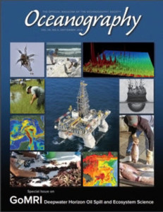 Cover of the September 2016 Oceanography Magazine, Volume 29, Number 3