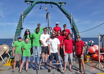 The crew of the 2016 C-IMAGE Mud and Blood cruise. (Provided by C-IMAGE)