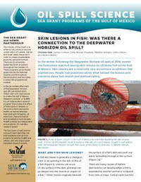 Oil Spill & Fish Lesions